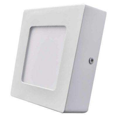 Kis méretű LED panel Falon kívüli négyzet alakú alakú 6 W