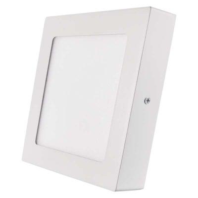 Kis méretű LED panel Falon kívüli négyzet alakú alakú 12 W