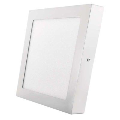 Kis méretű LED panel Falon kívüli négyzet alakú alakú 18 W