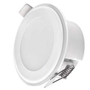 Kis méretű LED panel Beépíthető kör alakú 5