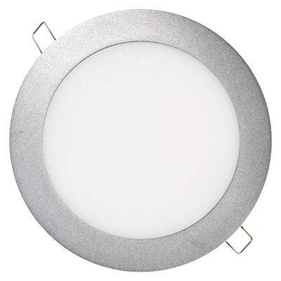 Kis méretű LED panel Beépíthető kör alakú 12 W